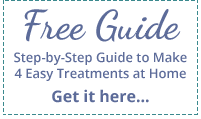Free Guide, Step-by-Step Guide to Make 4 Easy Treatments at Home, Get it here...